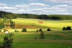 Farmland ***Explored*** (StarlightHope) Tags: rural landscape ally sweden sverige pregame landskap challengeyouwinner friendlychallenges achallengeforyou storybookwinner mygearandmediamond