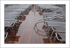 Sundeck Chairs (JayTeaUK) Tags: costa cruise norway sunlounger sundeck rain damp deck wet weather johnturp jayteauk
