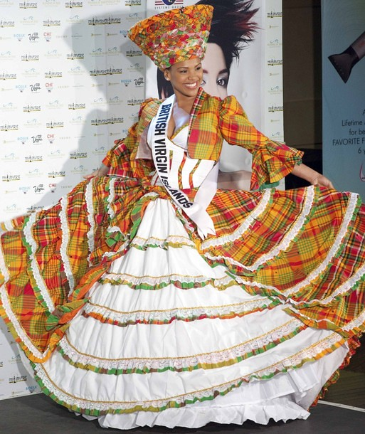 National Costume of Miss British Virgin Islands