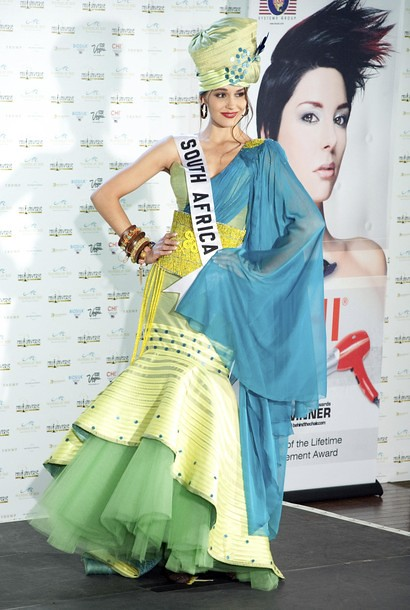 National Costume of Miss South Africa
