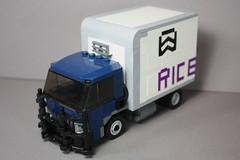 International CityStar 肉 Delivery Truck