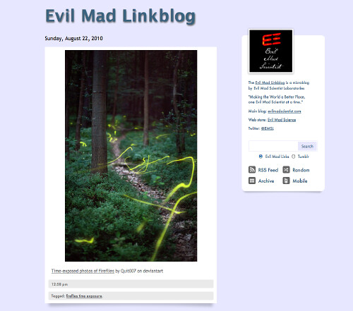 Evil Mad Linkblog