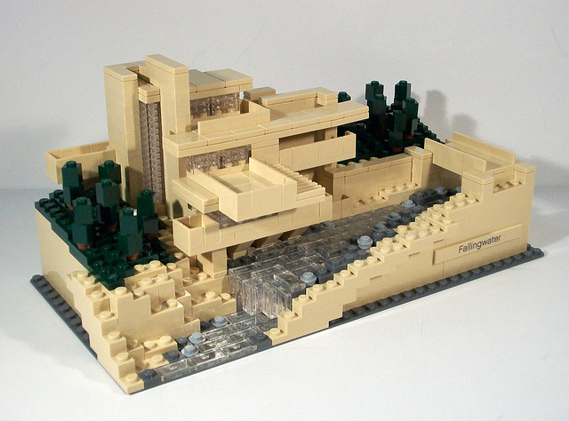 review 21005 fallingwater special lego themes eurobricks forums