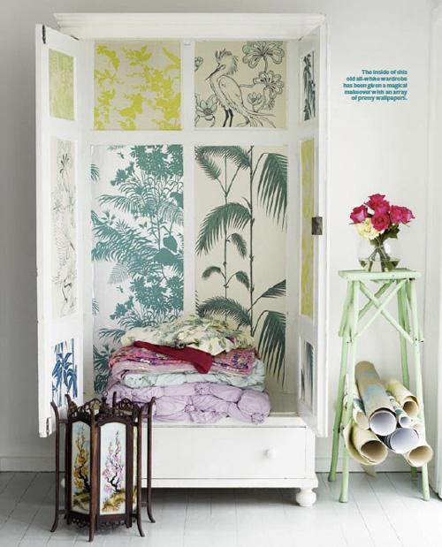 Wallpaper Cabinet By Shannon Fricke Decor8