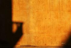 Ti prego affacciati (_viandante_) Tags: muro casa tramonto ombra finestra giallo crepe sole cartello luce benevento balcone divieto affissione