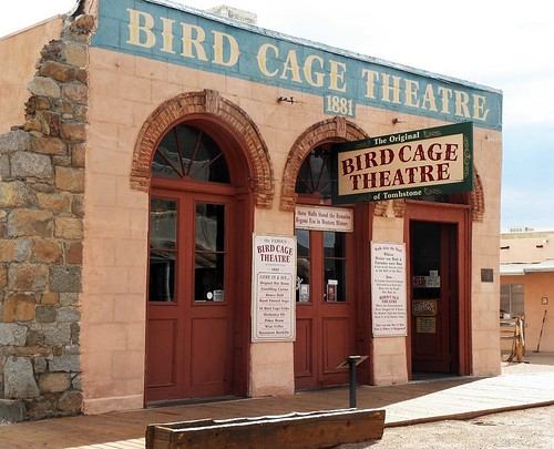 The infamous Bird Cage Theatre...