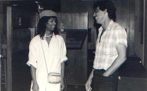 Djavan e Ivan Lins em 1983