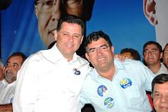 Marconi e prefeito Robson Lima (marconiperillo) Tags: marconi candidatos apoio prefeitos