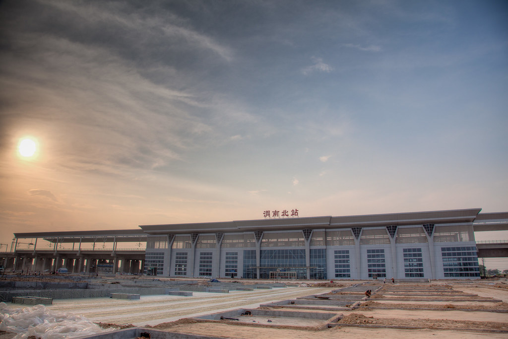 Weinan North Train Station HDR