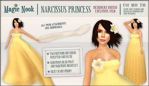 [MAGIC NOOK] Narcissus Princess