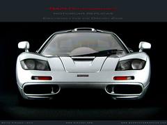McLaren F1 Short Tail in Magnesium Silver (Motorcar Miniatures) Tags: signature f1 mclaren 118 diecast autoart