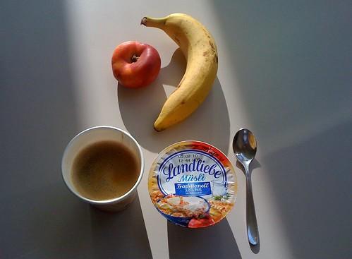 Bergnektarine, Banane & Landliebe Müsli