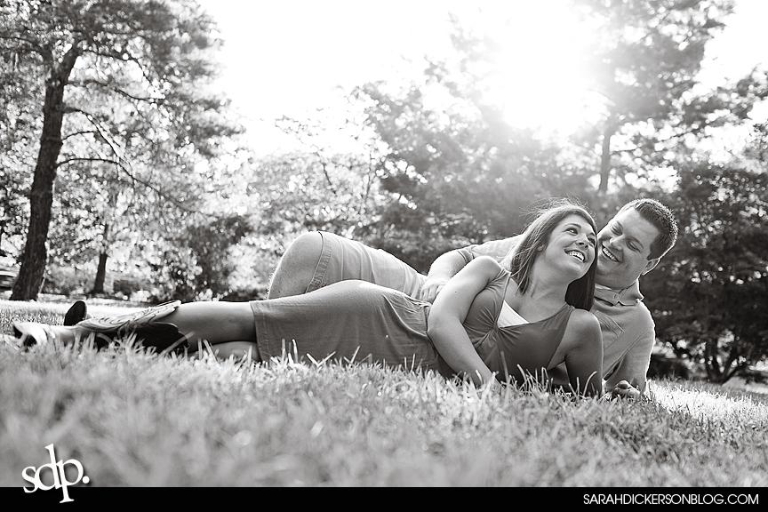Loose Park, Kansas City Missouri engagement photography