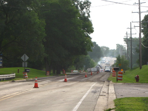 Repaving (and widening) Liberty Road