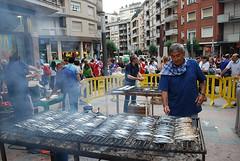 día de la sardina en Santurtzi
