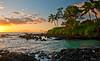 Makena Secret Beach (mojo2u) Tags: sunset beach hawaii pacific cove secretbeach maui makenacove nikon2470mm nikond700
