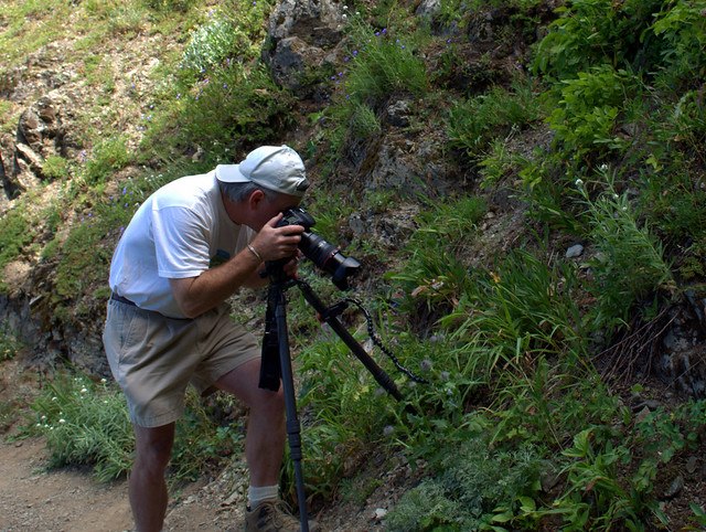 Craig Taking Wildlife Photos