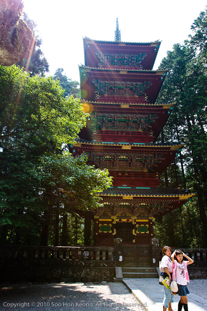 The Gojunoto (five storey pagoda)@ Toshogu Shrine, Nikko, Japan