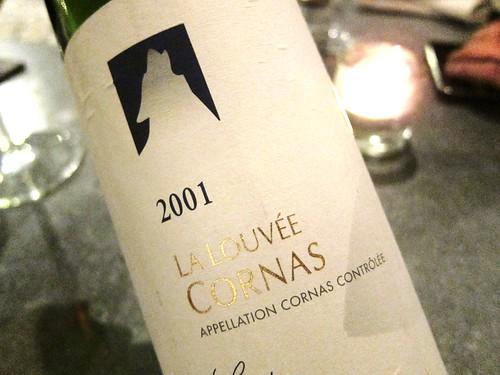 2001 La Louvee Cornas