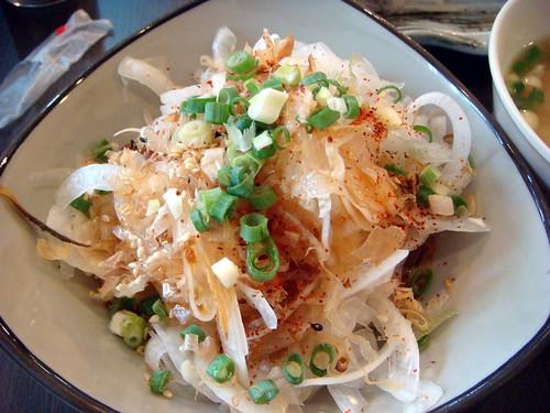 「藤原壽司」-涼拌洋蔥