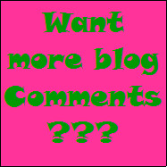 Get more comments by working around this blogger glitch!