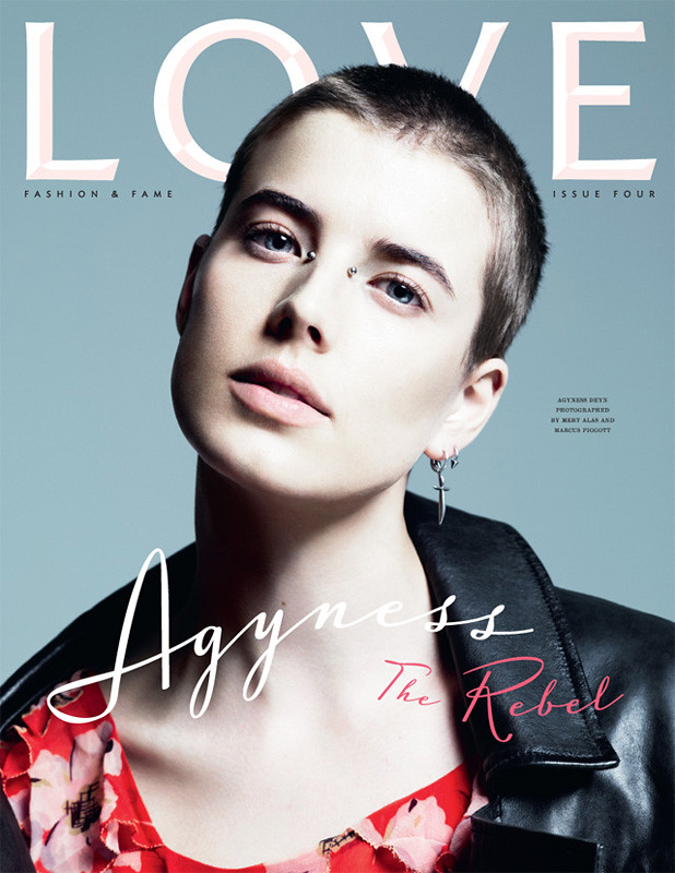 Agyness Deyn 'The Rebel'