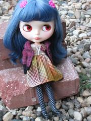 We need more sweaters (fishknees) Tags: socks book doll dress blythe etsy custom squeakymonkey blytherescuemission fishknees