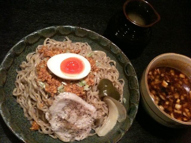 #tochigi 宇都宮花菱、カレーつけ麺大盛り!すげえうめえ!