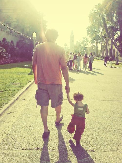 walk at balboa park