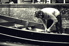 Young fisherman (josemanuelerre) Tags: fish brick ladrillo water work hair beard boat canal trabajo fisherman hands agua barca barco ship young manos blonde sail ready manual thin float navegar handwork barba pelo pescador preparing joven bote delgado flotar rubio listo preparando percar