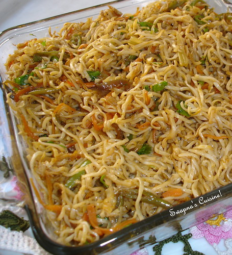 how to cook noodles in indian style