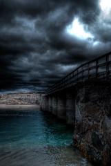 Ria de Baldayo (Sgt Garcia F) Tags: light españa luz praia puente spain lumière playa galicia pont plage ria hdr bridg baldayo