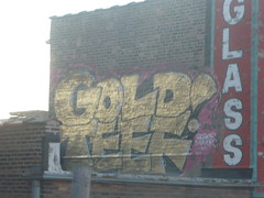 GOLD TEEF (Billy Danze.) Tags: chicago graffiti kwt 2nr noteef
