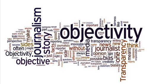 Objectivity in Journalism Wordle