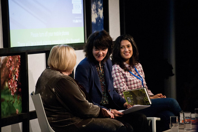 Ruth Padel, Fatima Bhutto, Fay Weldon