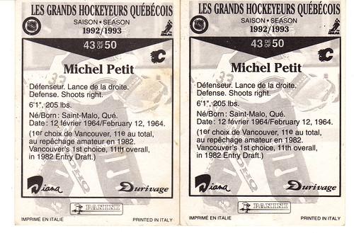 Michel Petit derriere