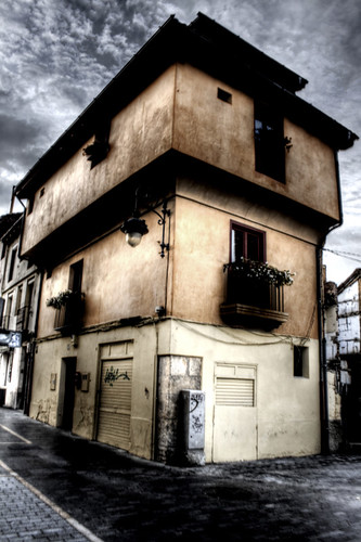 An old houes. Leon. Una vieja casa