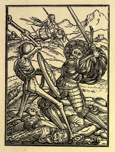 008-el soldado-The Dance of death…1833-Hans Holbein