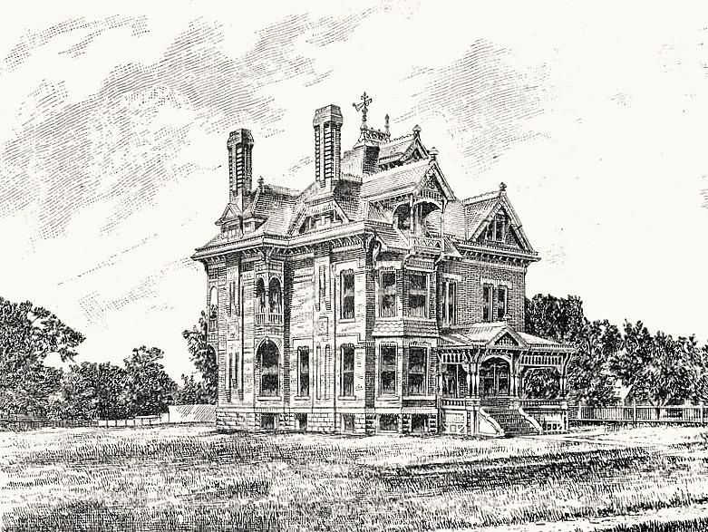 Residence of Finlay Ross; 821 North Waco Avenue in Wichita, KS