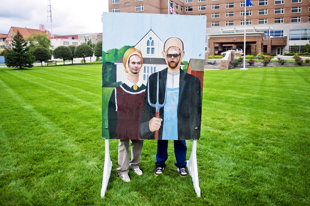 American Farmer Painting Quot American Gothic Quot Painting