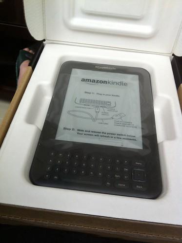 Kindle開箱