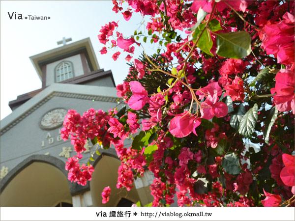 【台中景點】柳原教堂~百年歷史風華教堂,新人婚拍最愛!17