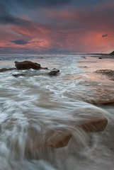 (D Breezy - davidthompsonphotography.com) Tags: california light beach clouds canon waves orangecounty sanclemente 1740mml singhrayfilter 5dmarkii 3stophardedgegnd