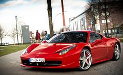 new Italian style... (hsvfan-jan) Tags: red design nice italia power awesome hamburg great ferrari 458 tamsen worldcars hsvfanjan