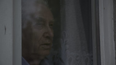 portrait (maja dewil) Tags: portrait glass light old age man time memories daydreaming dreams