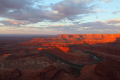 Sunrise at Dead Horse Point State Park (MarcusDC) Tags: deadhorsestatepark utah sunrise morning redrock sandstone coloradoriver explore78june302017