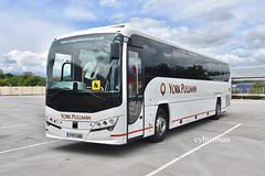 York Pullman YY17GBO. (EYBusman) Tags: york pullman rufforth north yorkshire kj logistics independent bus coach brand new hilderthorpe road park bridlington east plaxton leopard volvo b8r yy17gbo eybusman