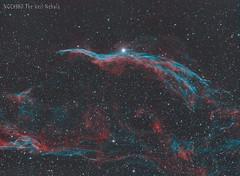bi colour veil2 (__Aenima__) Tags: astronomy astrophotography asi120mc astro autoguided astroimaging baader ccd cygnus deepskyobject dso ed80 eq6 filter guided qhyccd qhy163 space skywatcher sky stars stacking halpha oiii telescope