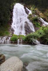 Keep Falling (Robyn Hooz) Tags: cascata waterfall grossglockner austria acqua fiume pietre mountain montagne