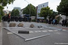 Riots Schanzenviertel I (tim.lueddemann) Tags: nog20 schanzenviertel ausschreitungen krawalle demo g20 g20hamburg hamburg pferdemarkt wasserwerfer tränengas